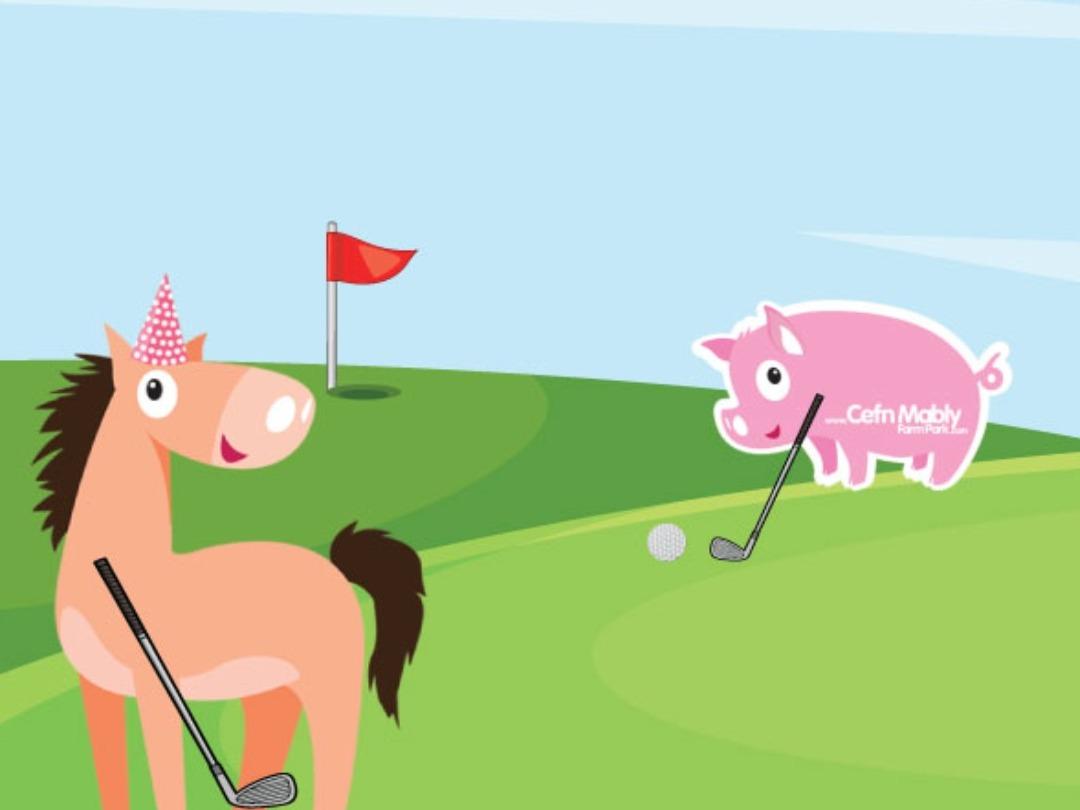 Mini Golf @ Cefn Mably!